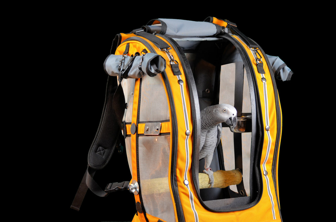 Travel-cage-&-backpacks