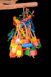 papegaaienspeelgoed - dieca - spiddy leather xl 1