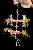 Pendant Straw - dieca - papegaaienspeelgoed 4