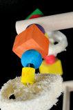 speelgoed voor parkiet en kleine papegaai 3