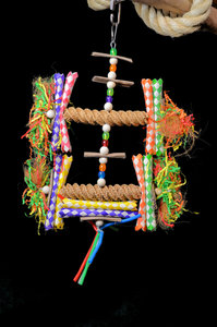 Pendant Straw - dieca - papegaaienspeelgoed 1